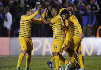 Boca igualó con Nacional en Uruguay y quedó bien parado de cara a la revancha