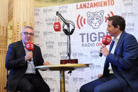 entrevista del periodista Juan Pablo Varsky al intendente Julio Zamora, sobre la agenda de trabajo actual que se impulsa desde el municipio