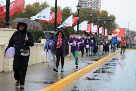 Tigre volvió a caminar contra la violencia de género