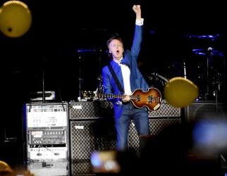 Paul McCartney cautivó a los cordobeses en el primero de los tres shows que brindará en el país