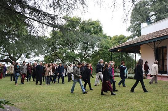 San Isidro celebró el 10º aniversario del museo de la Quinta los Ombúes