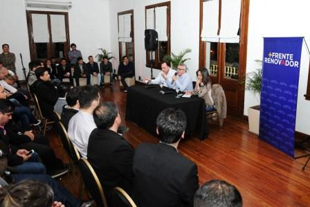 La juventud del Frente Renovador se reunió en Tigre