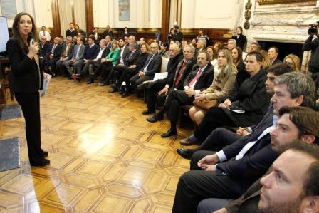 Vidal en el Congreso por el Fondo del Conurbano