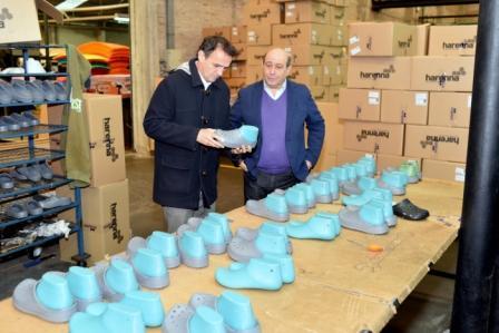Gabriel Katopodis, recorrió las instalaciones de la empresa Evaplas
