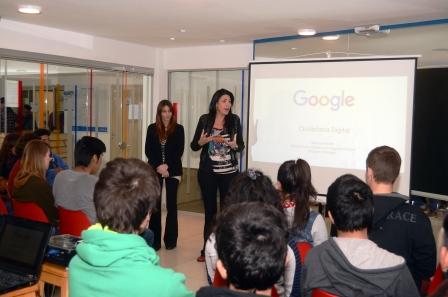 Los jóvenes de la Escuela Técnica Nº2 y del CBJ de Munro recibieron un capacitación de Google sobre seguridad en Internet