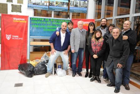 """Culminó """"Ayudanos a ayudar"""", la campaña de la UTN por los inundados en el Litoral"""