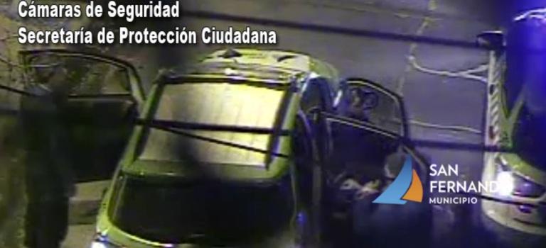 San Fernando: intentaron robar un auto estacionado, pero las Patrullas Municipales los detuvieron