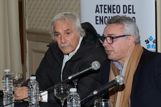 Organizada por Ateneo del Encuentro, Julio Zamora junto a  Fernando Galmarini, debatieron sobre el papel del peronismo en el desarrollo del deporte nacional y la importancia de un Estado presente para el crecimiento de los clubes de barrio.