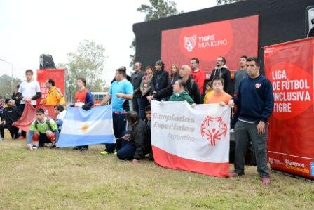 Arrancó en Tigre la 6° edición de la Liga de Fútbol inclusiva