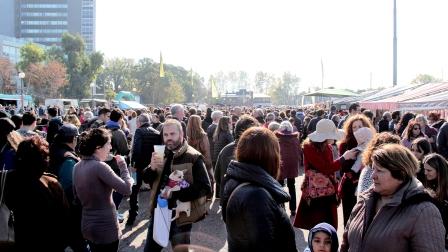 Gran jornada del BA Market en el puerto de Olivos