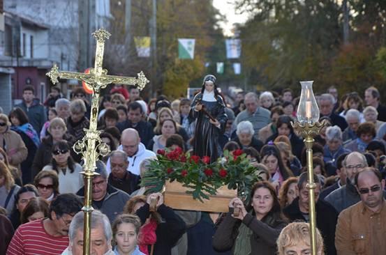 San Isidro celebró las fiestas patronales de Santa Rita