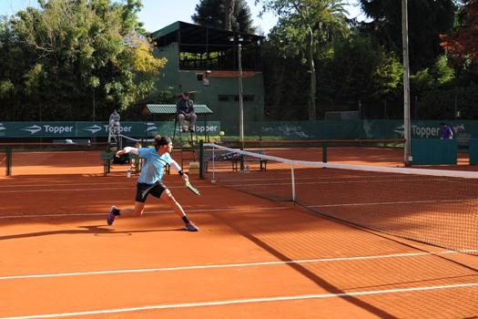 """Comenzó el torneo Future de tenis """"Copa Ciudad de Tigre"""""""