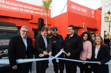 Se inauguró una nueva Sub Delegación Departamental de Investigaciones en Función Judicial en Don Torcuato