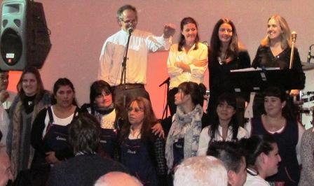Se Realizó la VIII cena solidaria del CAF Santa Clotilde