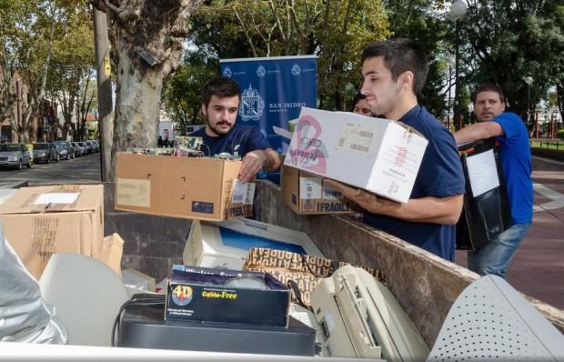 Tercera Jornada de Recolección de Residuos Electrónicos en San Isidro