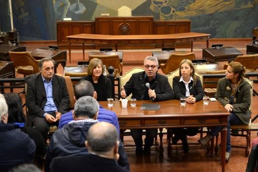 Saneamiento del Río Reconquista, tema central de la reunión de Zamora con concejales del FR de la Primera Sección Electoral