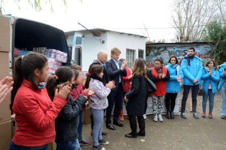 ARBA entregó mercadería decomisada en operativos a entidades de bien público de Pilar