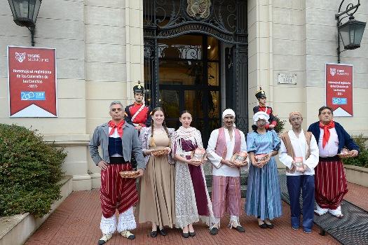Tigre se viste de celeste y blanco para festejar el bicentenario
