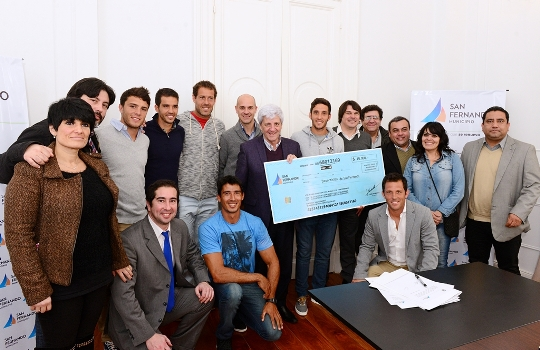 San Fernando entregó subsidios a atletas olímpicos sanfernandinos