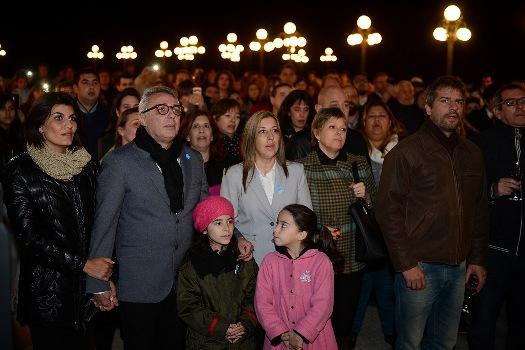 Con una vigilia en el MAT, Tigre recibió el Bicentenario de la patria