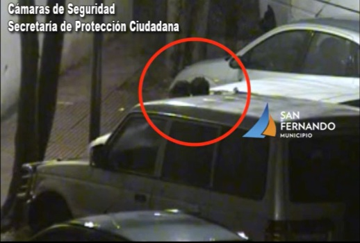 Intentaron robar un auto estacionado en San Fernando pero fueron detenidos por las Patrullas Municipales
