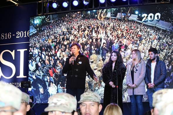 Más de 8 mil personas festejaron el Bicentenario de la Independencia en San Isidro