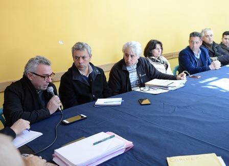 El intendente de Tigre participó en San Isidro de la reunión del Consejo Consultivo de la Cuenca Baja del Río Reconquista, en el marco del COMIREC