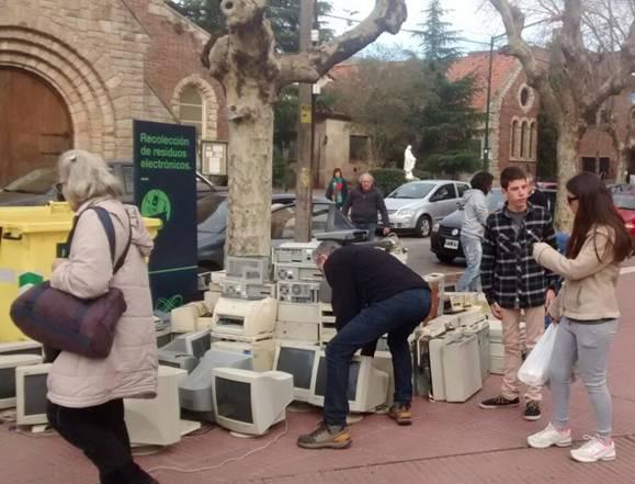 Exitosa campaña de recolección de residuos electrónicos en San Isidro