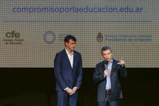 Macri lanzó un plan un educativo nacional que busca evaluar a docentes, alumnos y escuelas