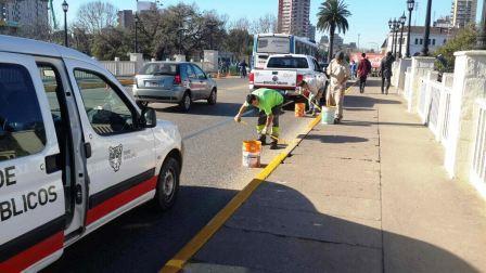 Realizan la puesta en valor y mantenimiento de los accesos a Tigre
