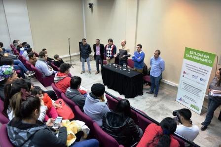 San Fernando inició el programa Jóvenes con Más y Mejor Trabajo