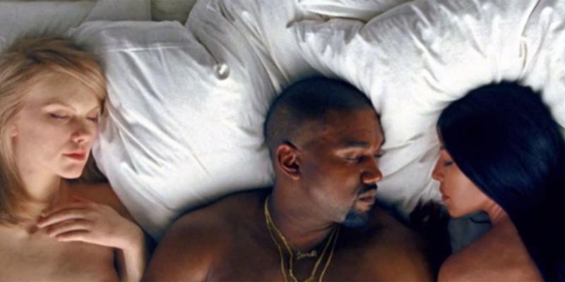 Taylor Swift, Kanye West y Kim Kardashian de nuevo en polémica