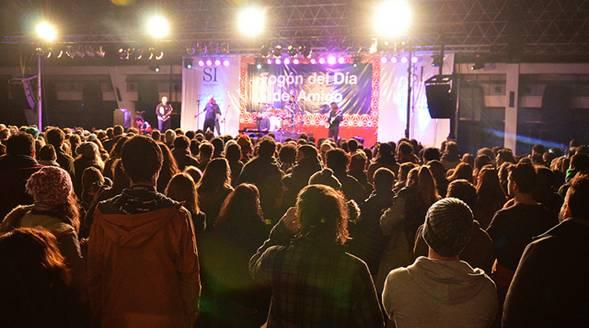 Más de 5 mil personas festejaron el día del amigo en San Isidro