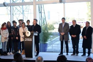 Macri dejó inaugurada Tecnópolis