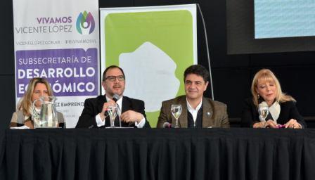 El intendente de Vicente López abrió el Encuentro de Municipios sobre Desarrollo Local y Sustentabilidad que se realizó en el Centro de Convenciones municipal. También expusieron funcionarios de los gobiernos Nacional y Provincial y el coordinador del programa de las Naciones Unidas para el Desarrollo.