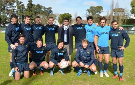 Los Pumas entrenaron en las canchas de Vicente López