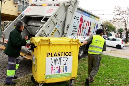 Con el Sanfer Recicla se procesan 6 mil kilos semanales de residuos