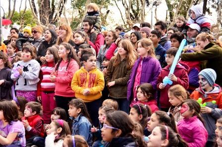 San Fernando continúa con los festejos en las plazas por el Mes del Niño