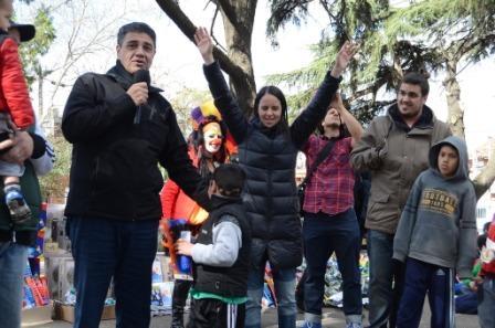 Jorge Macri participó en los festejos por el Día del niño en Vicente López
