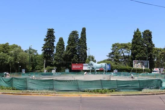 Tras otro accidente repararan la rotonda de Márquez y Fleming en San Isidro