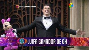 Luifa fue el ganador de GH2016