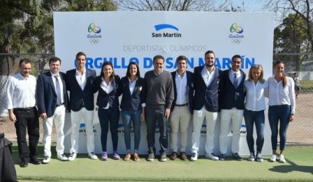 Katopodis recibió a los deportistas olímpicos de San Martín