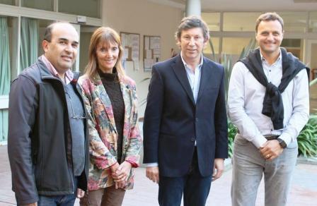 Ivoskus visitó el Hospital Central de San Isidro y se reunió con Gustavo Posse