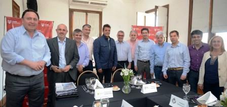 Reunión de Intendentes del FR con el Ministro de infraestructura de la Provincia de Buenos Aires