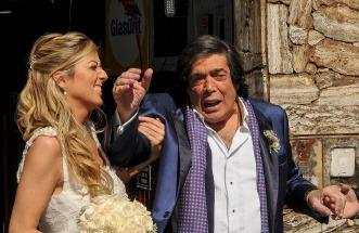 Cacho Castaña volvió a casarse