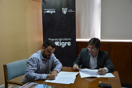 Tigre firmó un acuerdo de cooperación turística con Mendoza