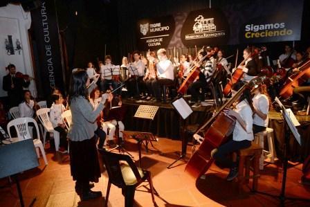 Las orquestas de Tigre cerraron el ciclo