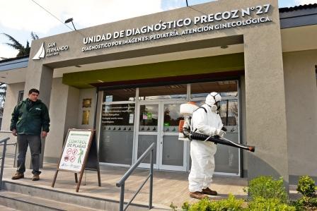 San Fernando llevó el Programa de Prevención Contra el Dengue al barrio San Rafael