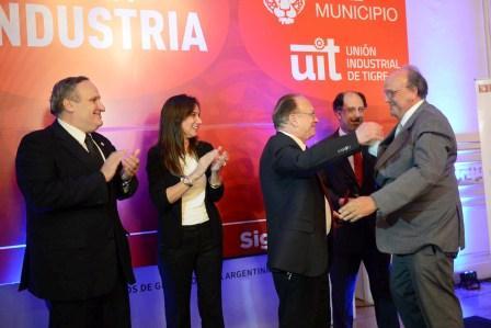 La Unión Industrial de Tigre y el municipio celebraron el Día de la Industria