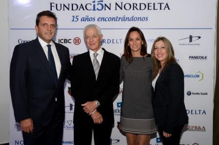 La Fundación Nordelta festejó su 15° aniversario con una cena a beneficio